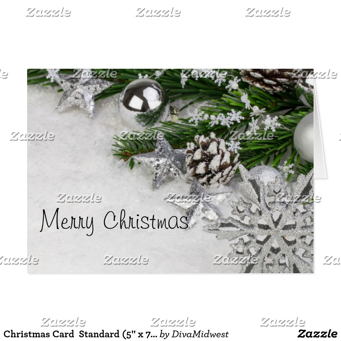 Christmas Card Standard 5 X 7 Personalized Christmas Gifts