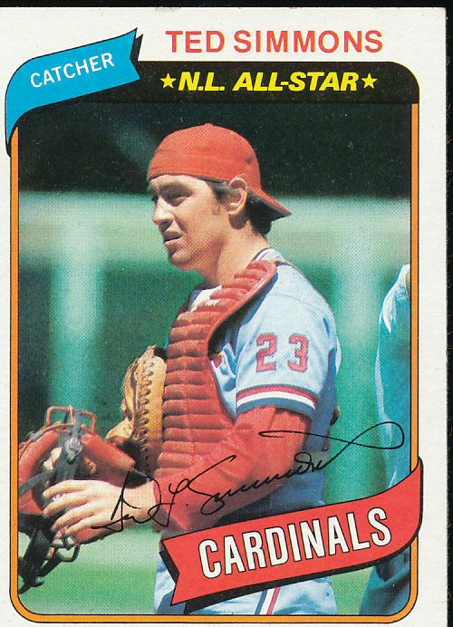 1980 St Louis Cardinals Topps Mlb Baseball 25 Card Team Set
