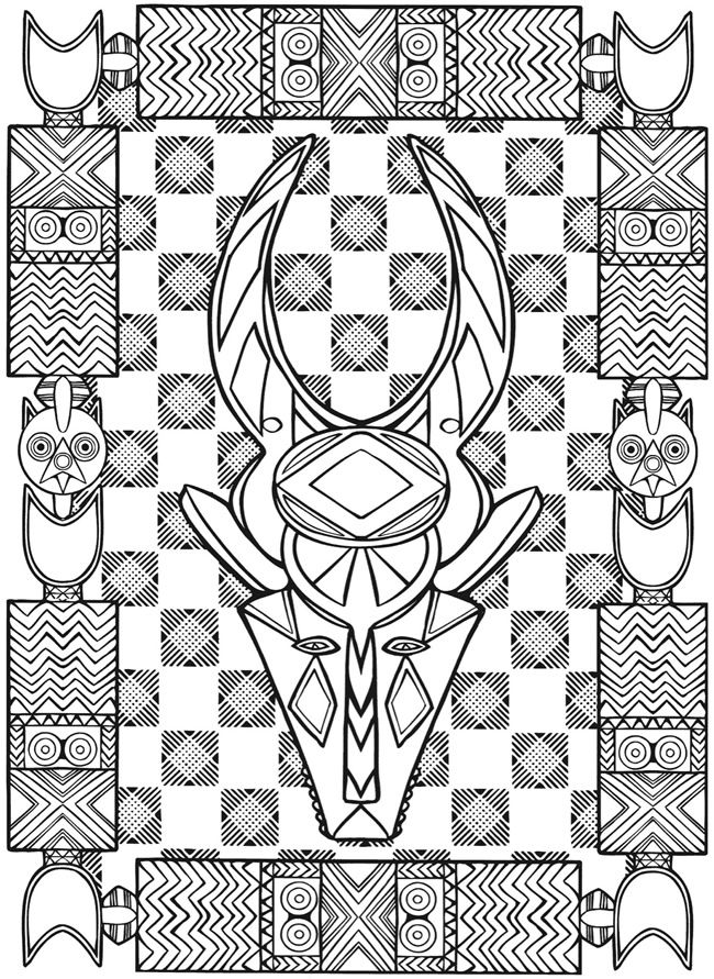 Welcome To Dover Publications Designs Coloring Books Dover Coloring Pages Pattern Coloring Pages