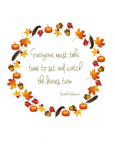 Pretty Quote And Printable · Fall Time QuotesSeptember ...