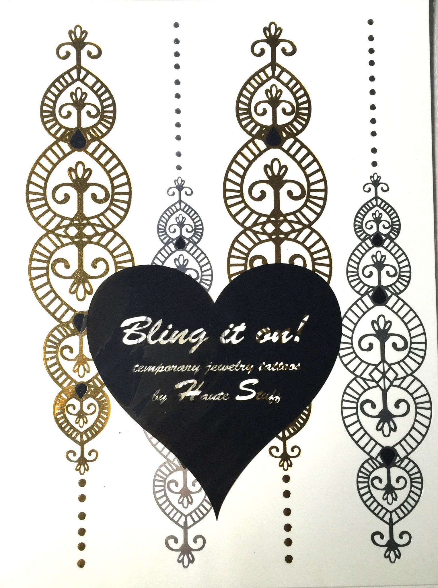 Temporary Jewelry Tattoos - Love & Lace