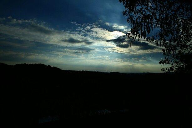 Nubes de Sierra Morena