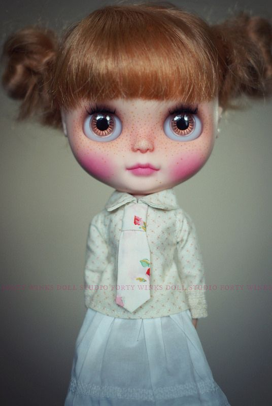 A Doll A Day. Jan 28. Latte.