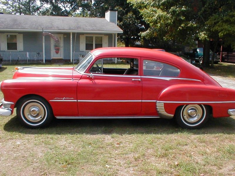 1950 pontiac silver streak 2 dr fastback cars from the for 1950 pontiac 2 door