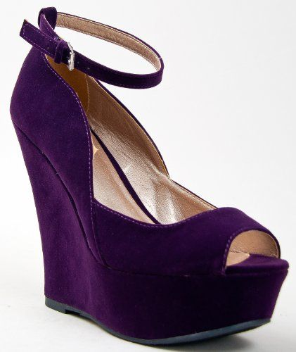 140193f1bc0 purple open toe Purple Wedges
