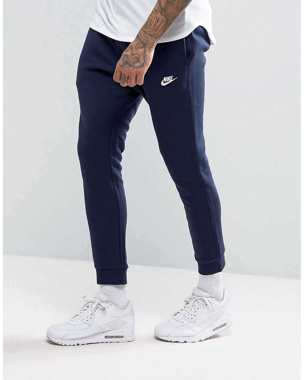 deefd2c7e874 Men s Blue Cuffed Club Jogger In Navy 804408-451 in 2019