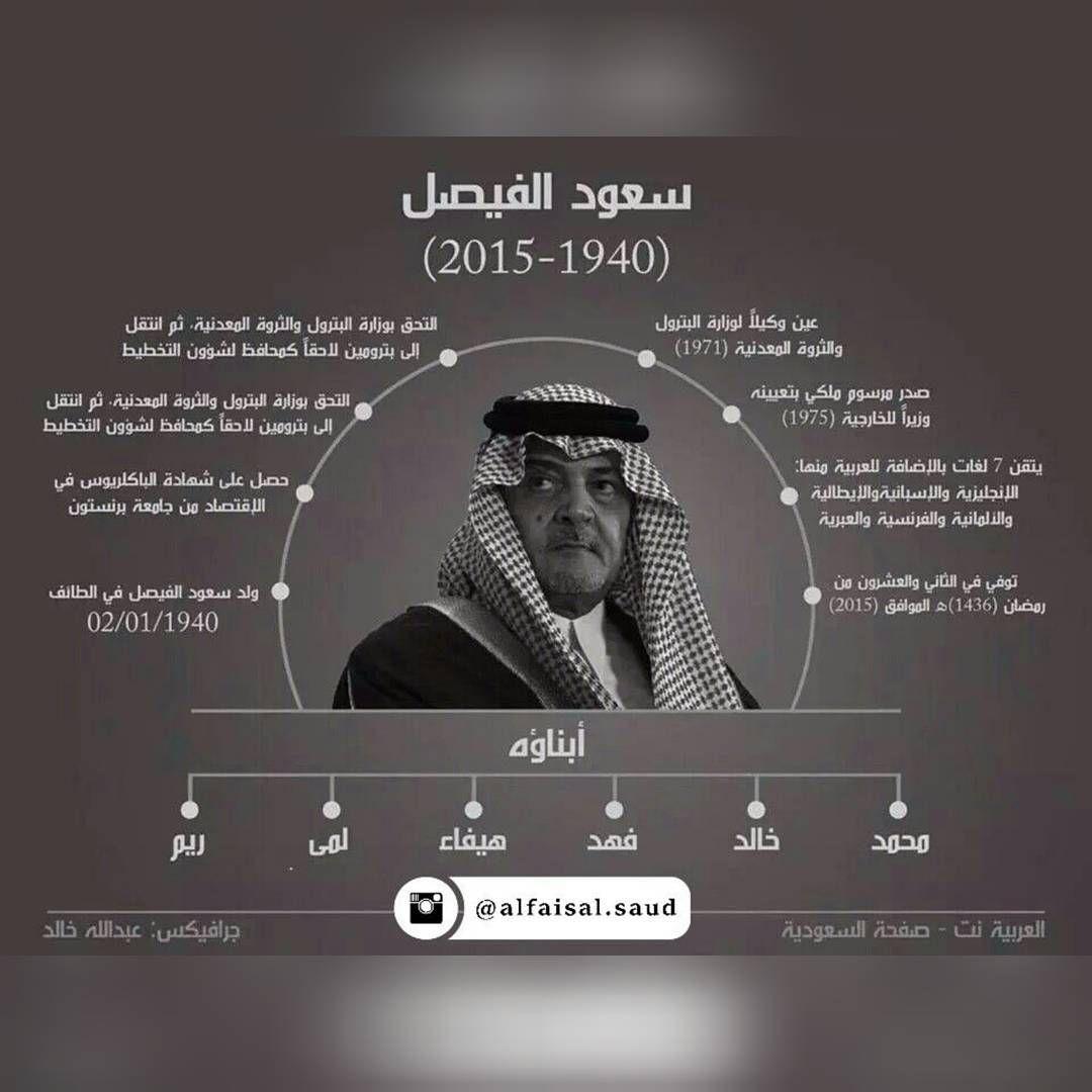 سعود الفيصل On Instagram انفوجرافيك لمسيرة الأمير الراحل سعود الفيصل المهنية من 1940 الى 2015 رحمك الله وكتبك من ع King Faisal Uig Art Wallpaper