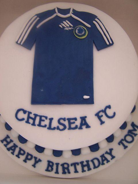 Chelsea Birthday Cake Cake Football Cake How To Make Cake