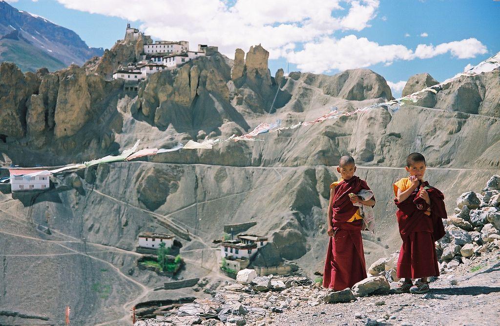 2005 07 Spiti Kee Dhankar monks | Spiti valley, Buddhism ...