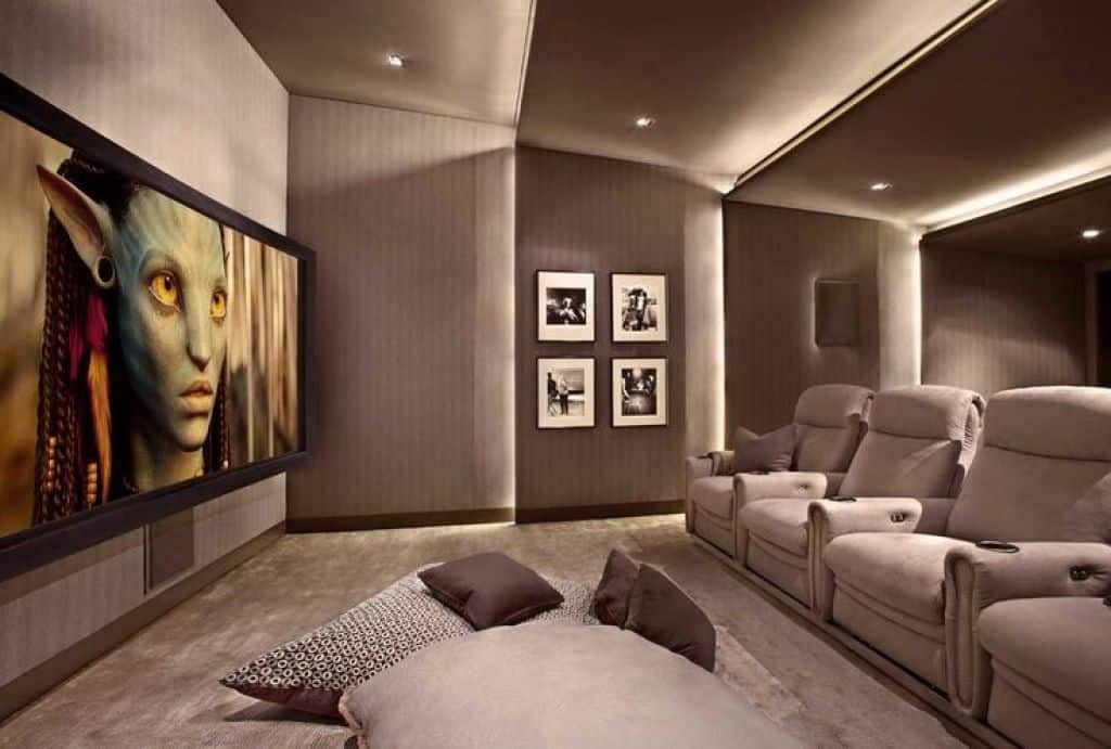 Some Ideas Of Home Theater Ceiling Home Cinema Room Small Home