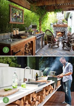 Get interesting inspiration about outdoor kitchen ideas , designs ...