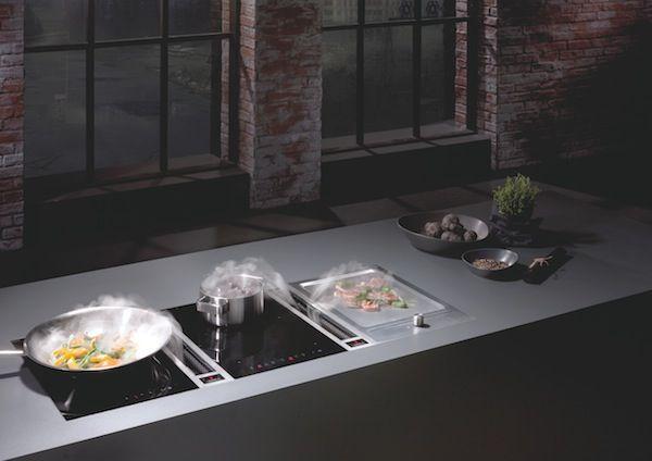 Bora El Sistema Extractor Integrado En La Placa De Cocina Placas De Cocina Placas Disenos De Unas
