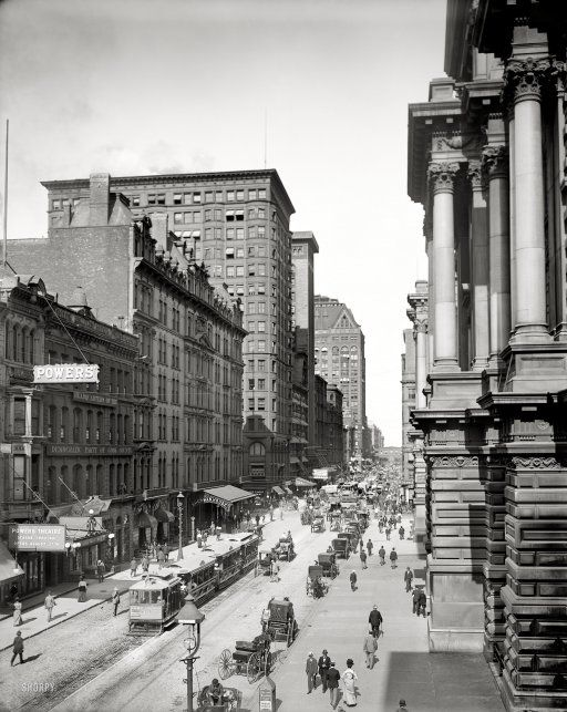 Randolph Street, Chicago, 1900