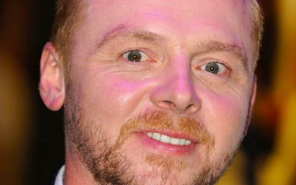Simon Pegg People With 2 Different Eyes Beautiful Different