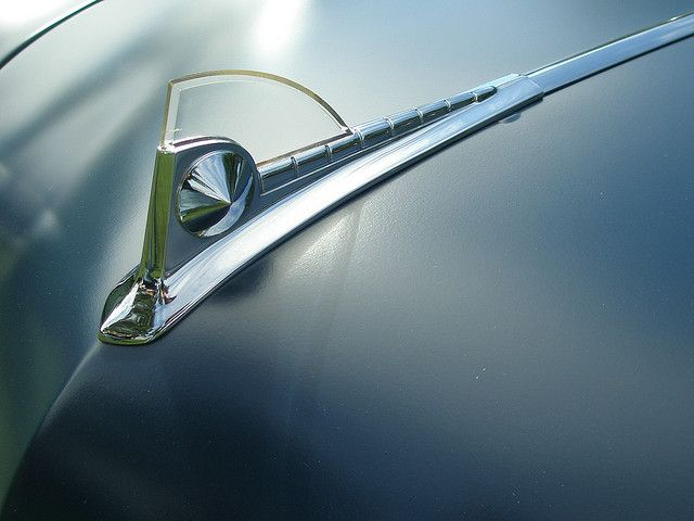 Hood Ornament by 8 Eyes Photography, via Flickr