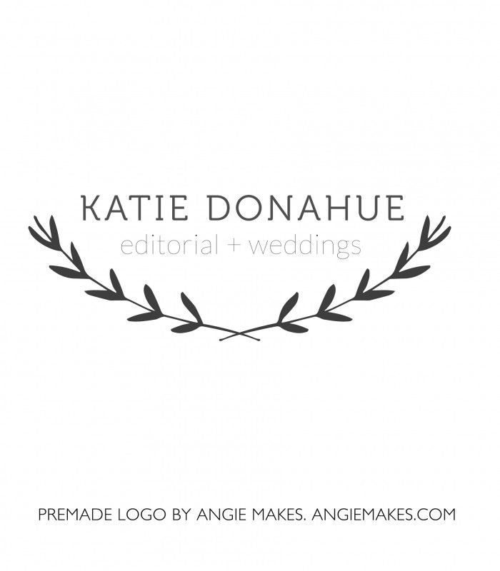 Katie Modern Laurel Branch Logo Logos, Typo logo and Typo - cypress resume