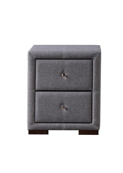Birlea Furniture Sorrento Fabric 48 Drawer Nightstand Grey Unique Tesco Bedroom Furniture