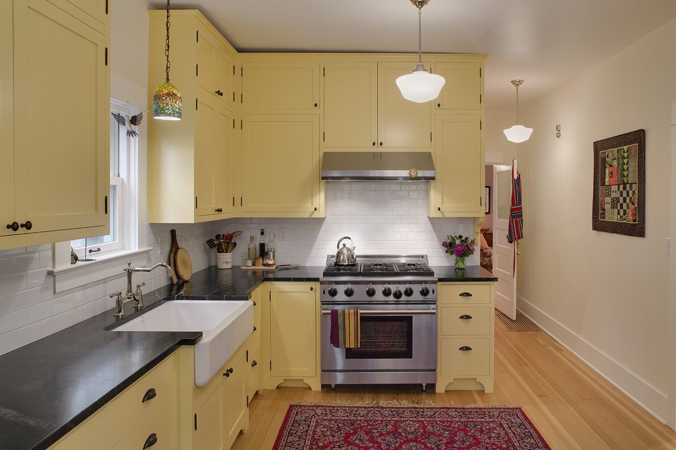 Tasteful bungalow kitchen remodel, but why didn't they ...
