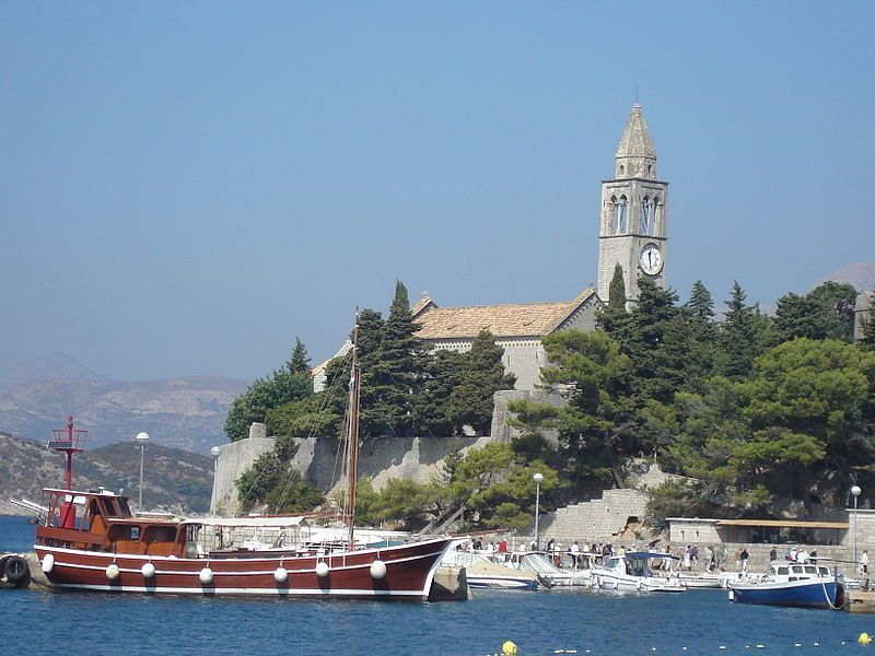 Island of Kolocep aka Kalamota near Dubrovnik,