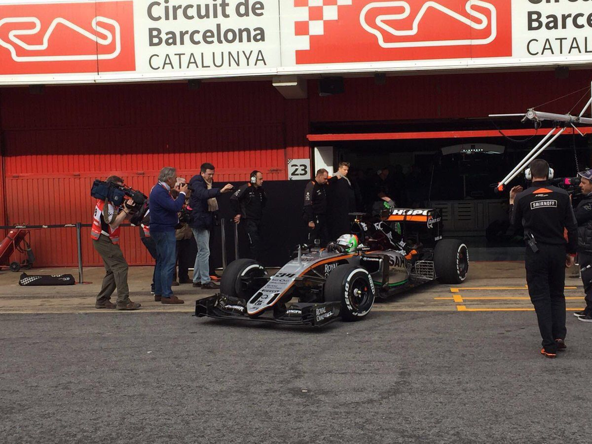 2016 Force India-Mercedes VJM09