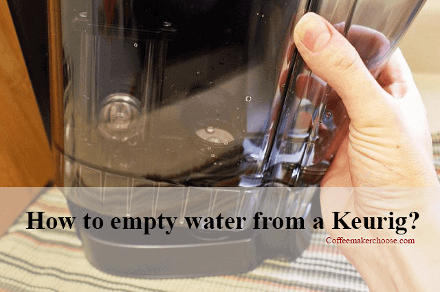 To Clean Or Store Your Keurig You Need To Know How To Empty Water From A Keurig The Water Can Evaporate Keurig Starbucks Coffee Recipes Pumpkin Spice Coffee