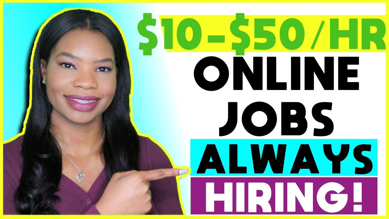 Pin on WORK FROM HOME JOBS