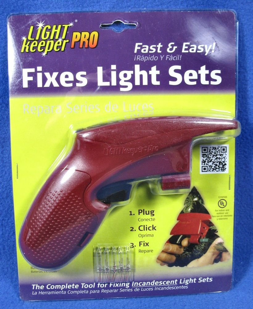 Light Keeper Pro Fixes Light Sets Repair Tool New In Package 01201