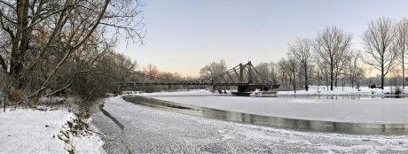 Panorama der Peißnitzbrücke