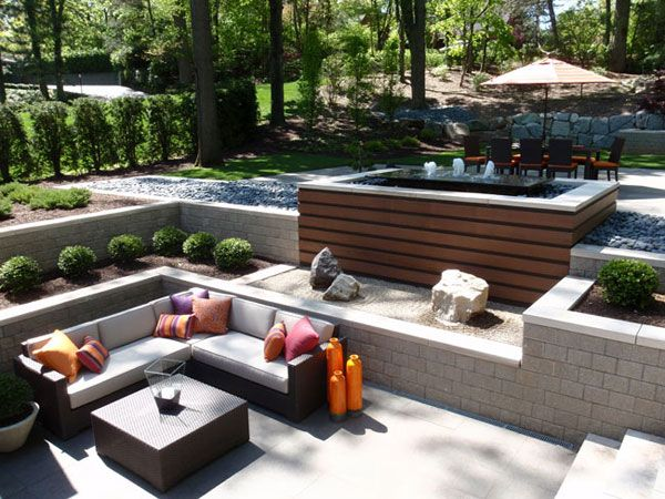 Garden Ideas And Outdoor Living contemporary outdoor spaces | paver planet - creative outdoor