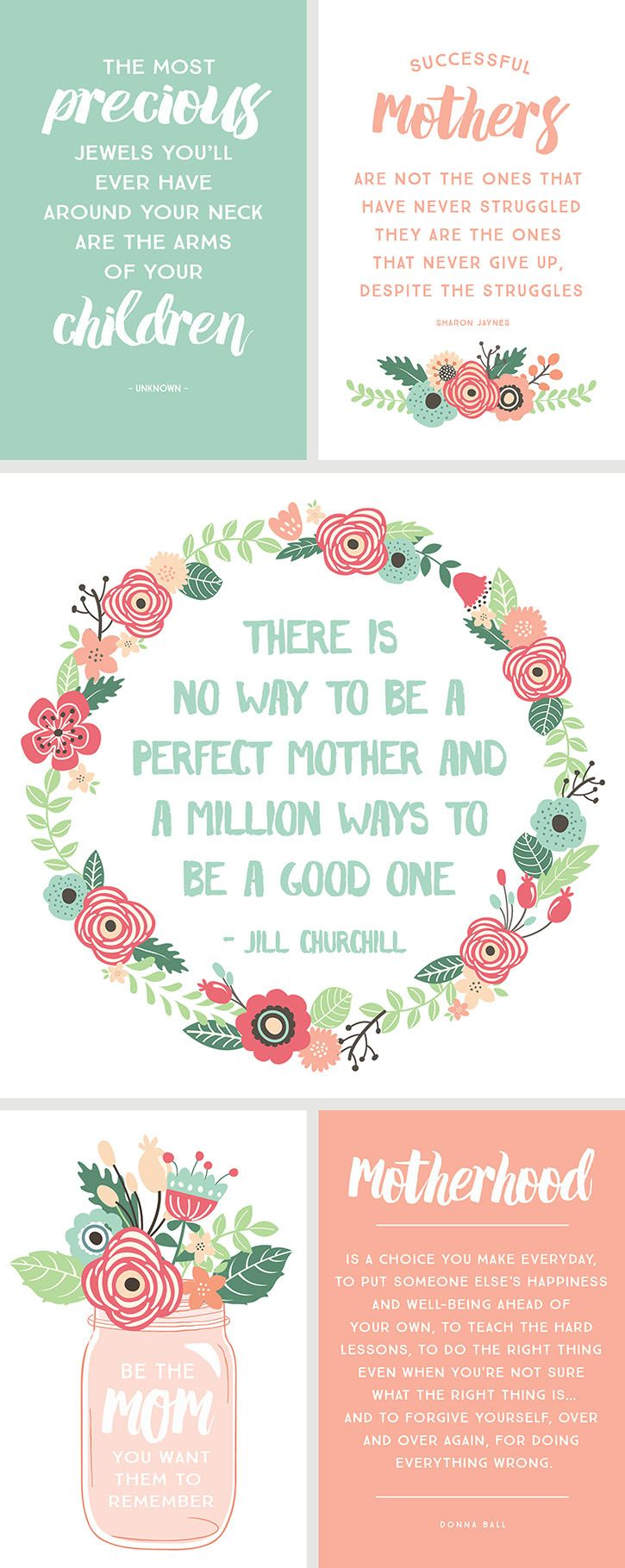 Inspirational Quotes for Motherus Day mothers day Pinterest