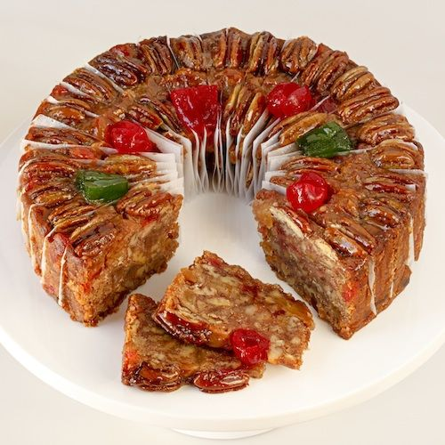 Mail Order or Buy Online Pineapple Pecan Cake Texas Fruitcakes