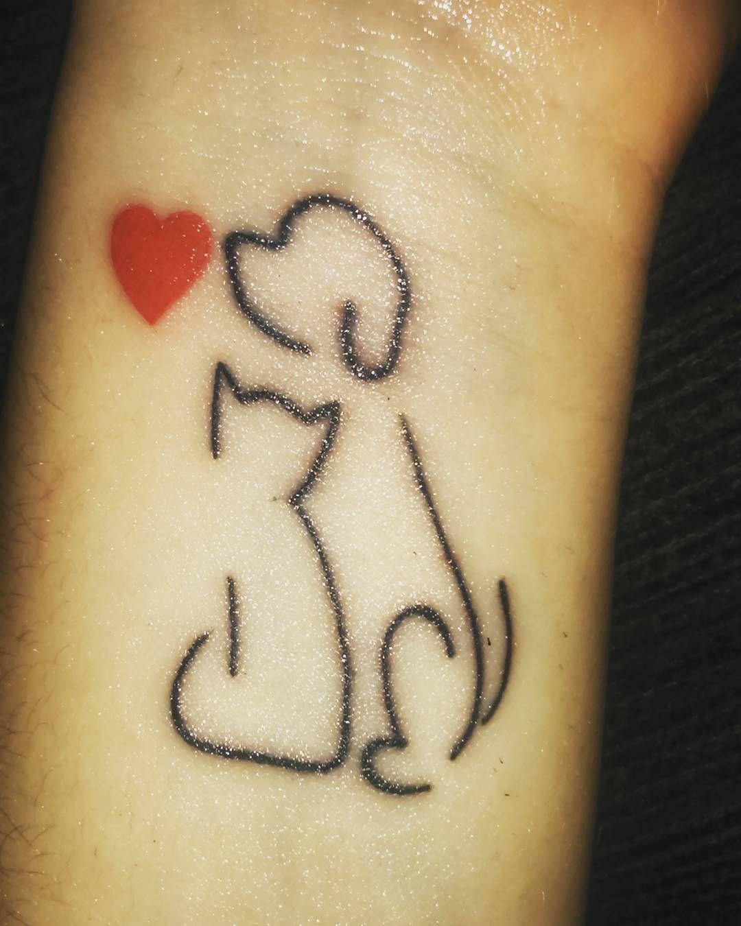 Imagen Relacionada Tatuajes Perro Tatuaje Gato Tatuajes Y