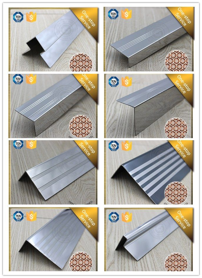 Ceramic Tile Stair Nosing 304 Stainless Steel Stair Step Edge Trim Tile Stair Nosing Tile Stairs Stair Nosing