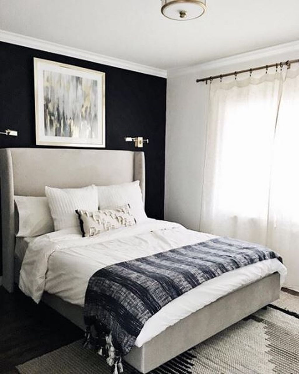Bedroom Black Accents 49 Lovely Black Accent Walls Bedrooms Ideas Black Walls Bedroom Accent Wall Bedroom Black Accent Walls