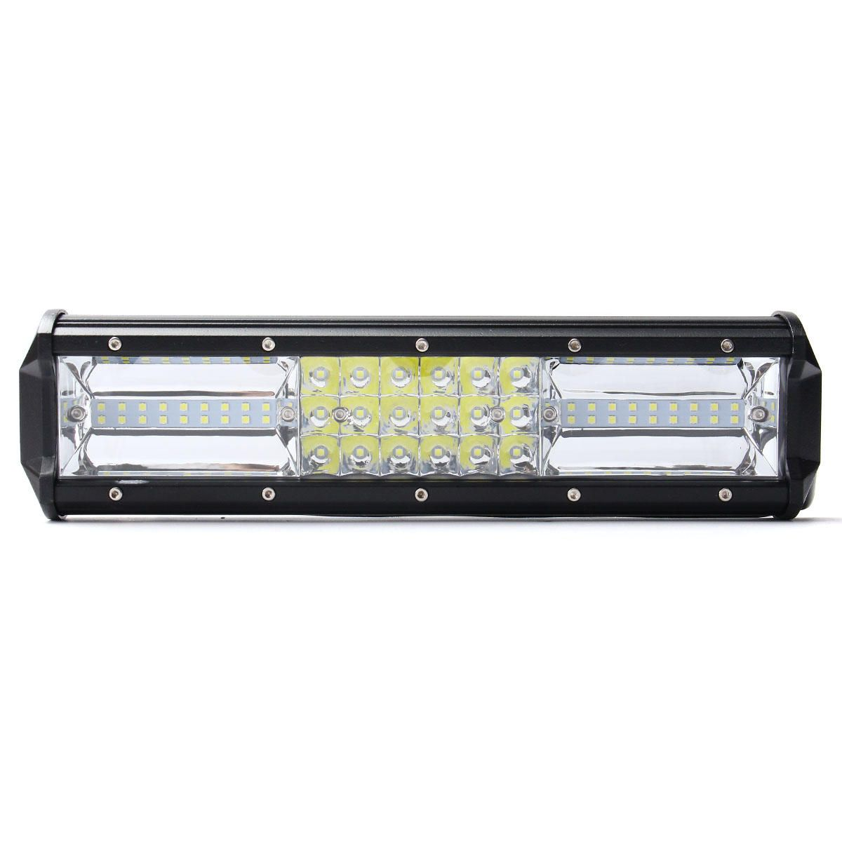 12 Inch 324w Led Light Bar Flood Spot Combo Off Road Car Truck 10 30v Waterproof Ip68 Bar Lighting Cars Trucks Car Led Lights