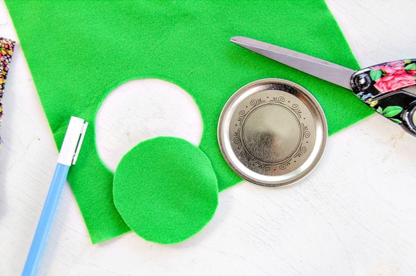 How To Make a Pin Cushion Jar Pin cushions, Jar, Fabric