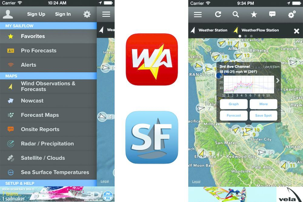 Essential Apps WindAlert / SailFlow Wind forecast, App