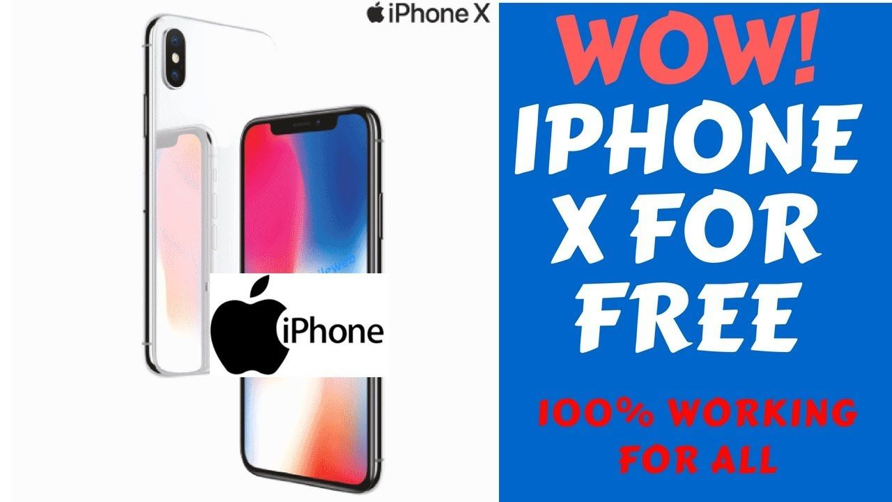 *Free iphonex*[Amazing working] How To Get iphone X for
