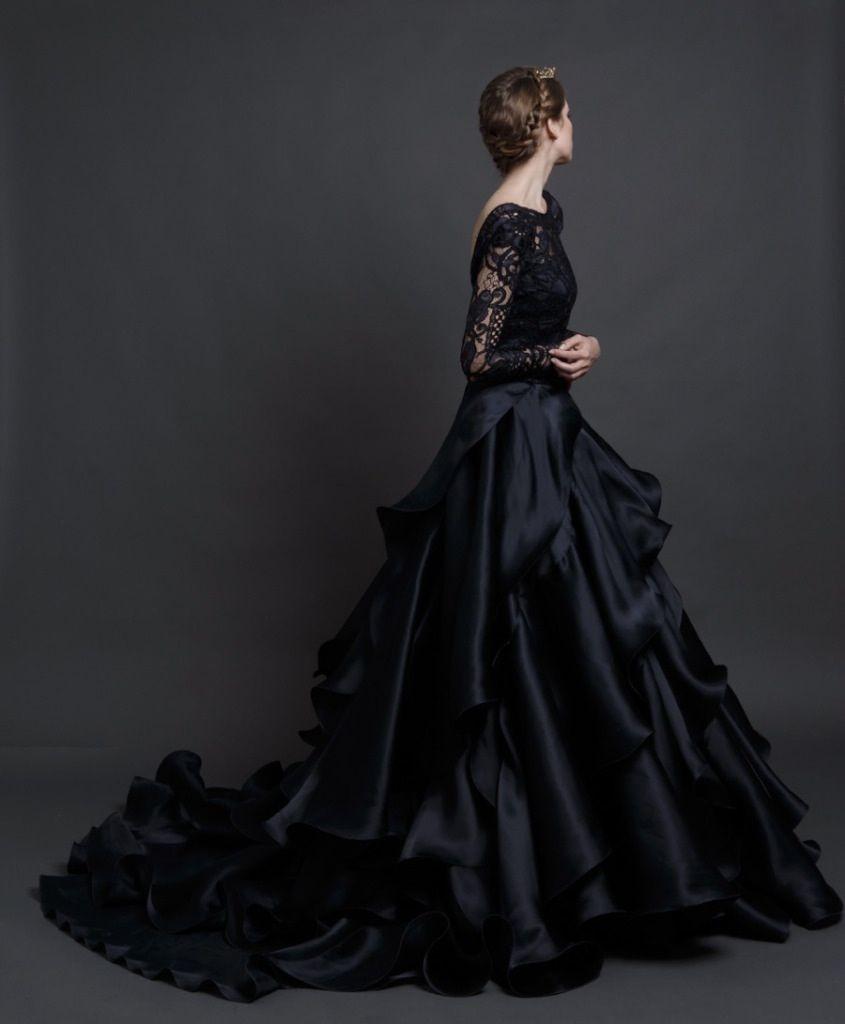 Robe de mariee noire reve