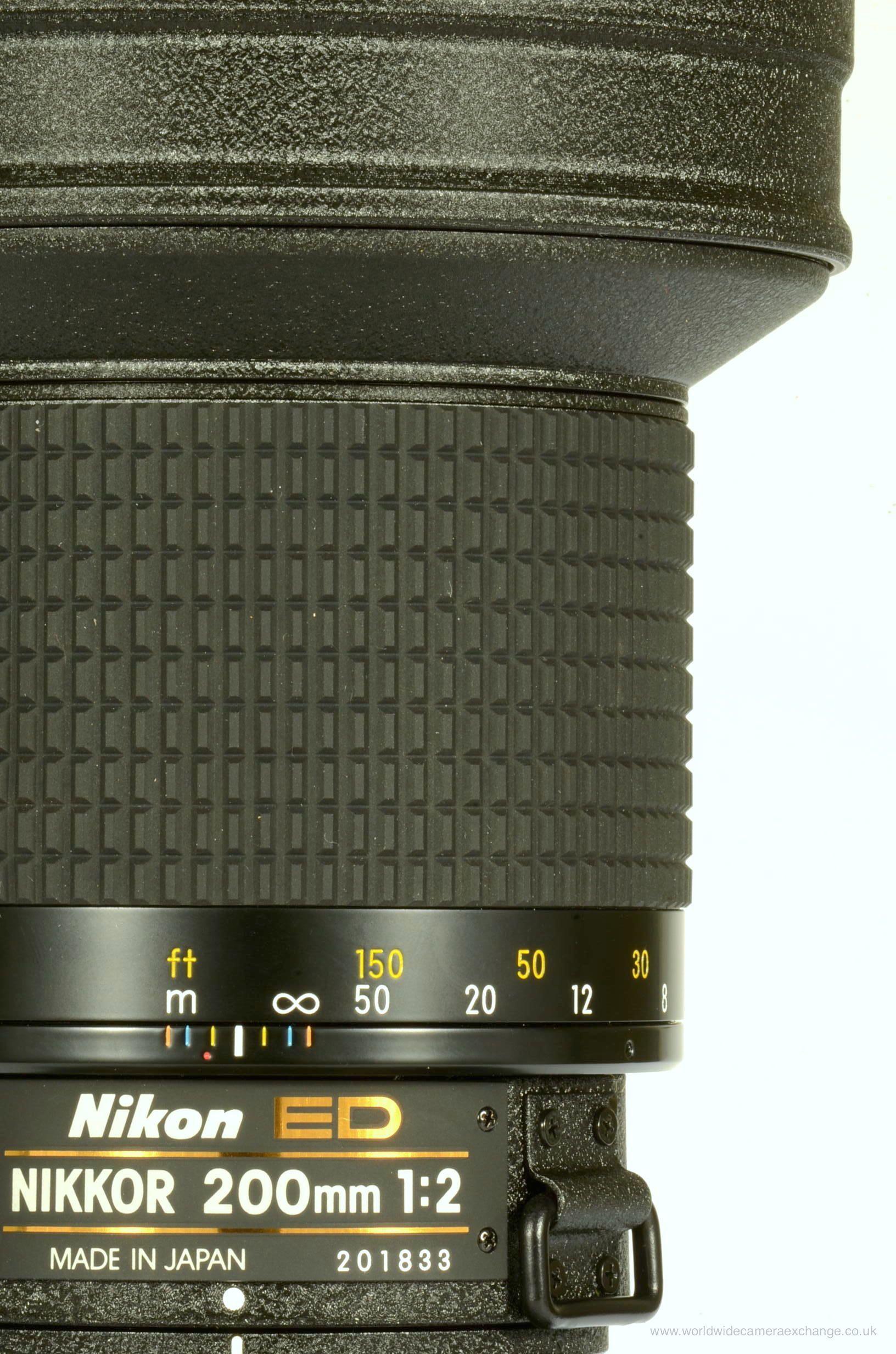 Beautifully Made Manual Focus Nikon 200mm F2 Ifed Lens Nikon Lenses Nikon Digital Camera Nikon