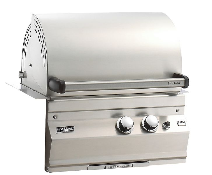 Fire magic legacy builtin stainless steel gas grill