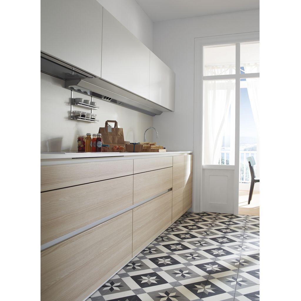 Tendance une cuisine bois et laque lieu de cr ation pinterest cuisine bois bois et frene - Cuisine bois et blanc laque ...