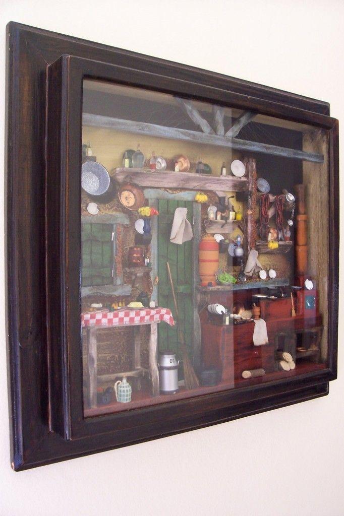 cozinha da roça - miniatura