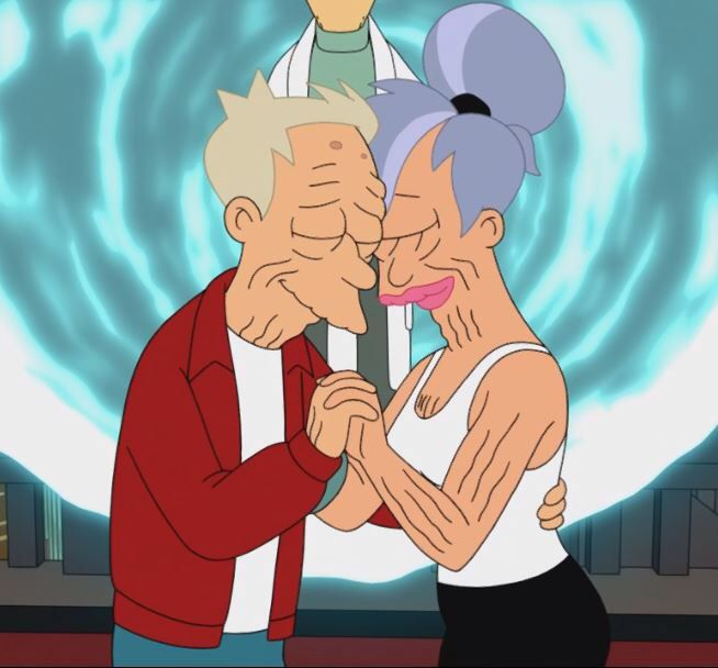 Futurama Fry And Leela Relationship