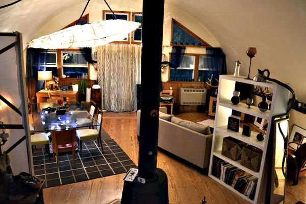 We Love This Quonset Hut Apartment Featured In The East Hampton Star