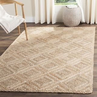 For Safavieh Hand Woven Natural Fiber Jute Rug 6 X 9 Get Free Shipping At Com Your Online Home Decor Outlet