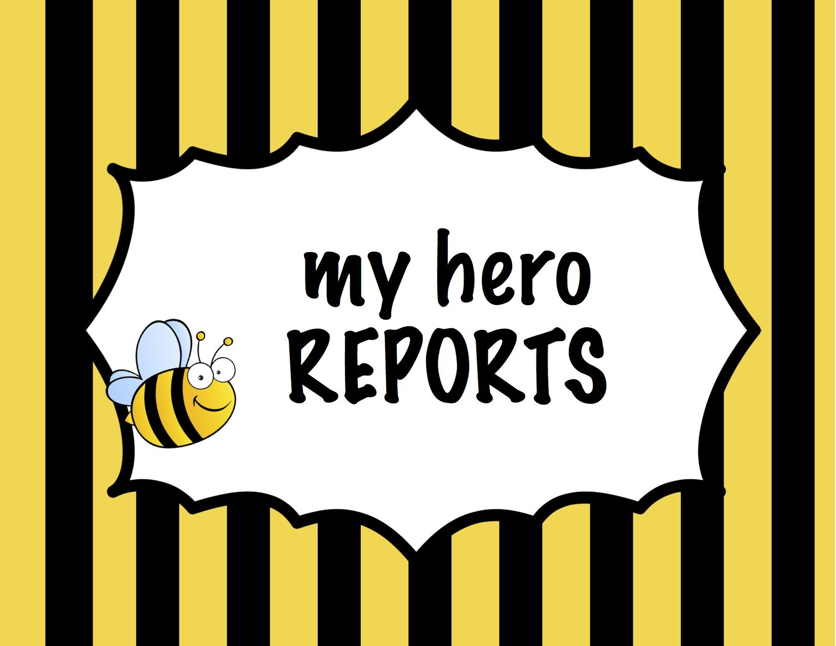 Resources And Ideas For Writing A Hero Report