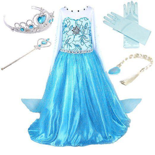 Kleid eiskonigin 164