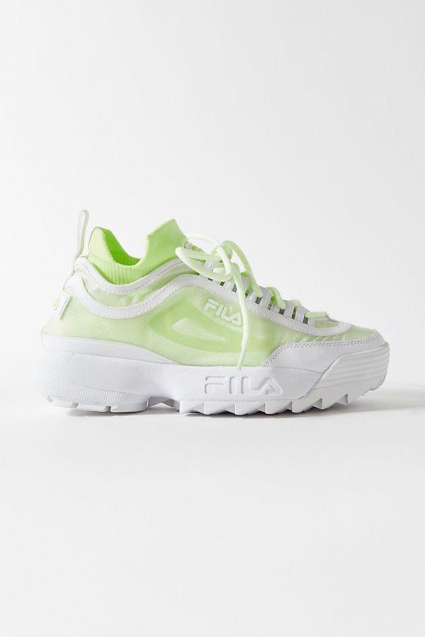 FILA UO Exclusive Disruptor 2 Sock Mesh Sneaker Sneakers  Sneakers