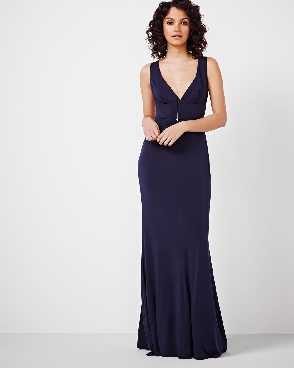RW&CO. | V-Neck Maxi Dress By ABS | Spring